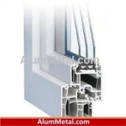 قیمت هر متر پنجره آلومینیوم لولایی سنگین