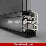 فروش پنجره آلومینیومی دوجداره ترمال بریک آکرول