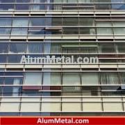 قیمت مترمربع پنجره آلومینیوم دوجداره ترمال بریک