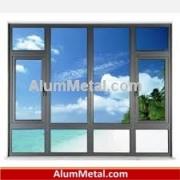 کارخانه تولید پنجره آلومینیوم دوجداره اراک