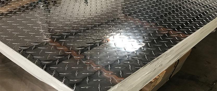 ورق آلومینیوم آجدار