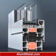 قیمت پروفیل آلومینیوم پنجره نرمال آکرول