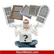 قیمت انواع پنجره آلومینیوم دوجداره ترمال بریک