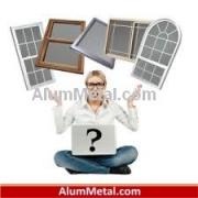 کاتالوگ پروفیل آلومینیوم پنجره ترمال بریک آکرول