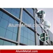 خرید پروفیل آلومینیوم پنجره دوجداره لولایی آکرول