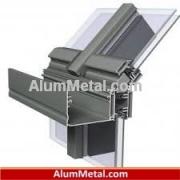 سیستم پنجره آلومینیوم لولایی ترمال بریک آنادایز