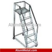 کارخانه سازنده پروفیل آلومینیوم نردبان کشویی آبکاری