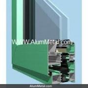پروفیل پنجره آلومینیوم ترمال بریک