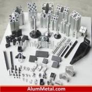 ساخت شاسی میز آلومینیومی صنعتی پروفیل شیاردار